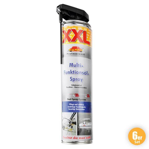 Carfit XXL Multifunktionsöl-Spray 6er Set