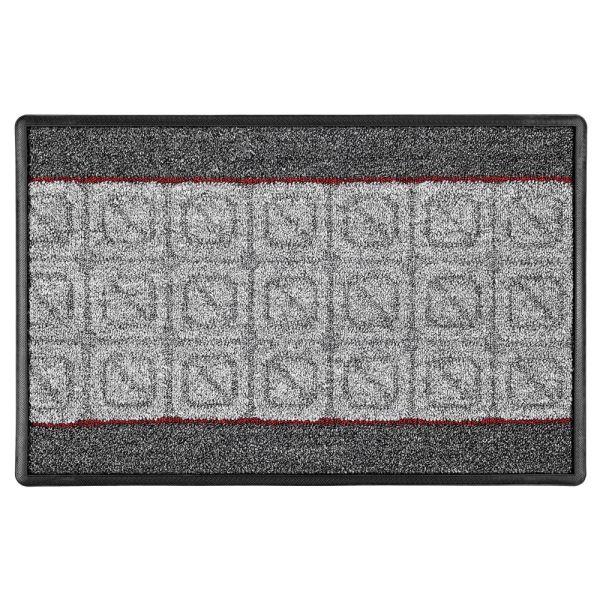 Lifetex XXL-Schmutzfangmatte, ca. 60 x 90 cm, Quadro Lines