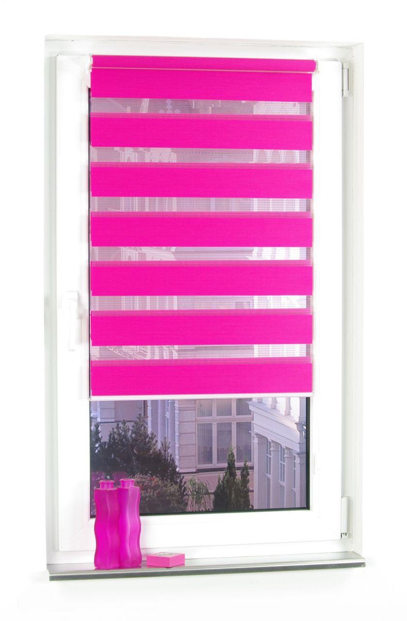 Bekannt Bella Casa DUO-Rollo Doppelrollo, rot, 160 x 80 cm   Norma24 TV99