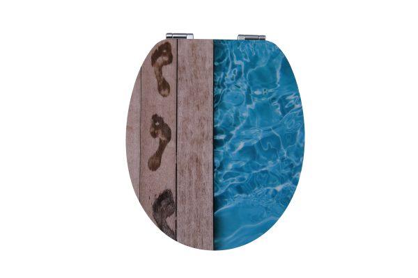 Duschwell MDF High Gloss WC-Sitz Pool