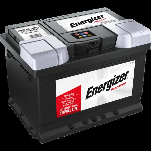 Energizer Premium-Starterbatterie 60 Ah