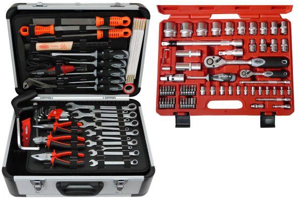FAMEX 729-24 Top Qualität´s Werkzeugkoffer   Baumarkt > Werkzeug > Werkzeug-Sets   Chrom   Stahl   FAMEX