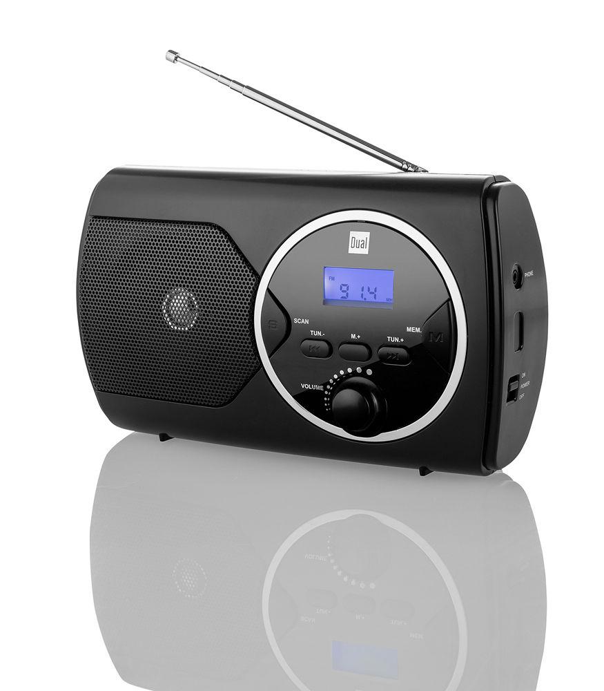 dual pll radio mit ukw empfang p10 schwarz norma24. Black Bedroom Furniture Sets. Home Design Ideas