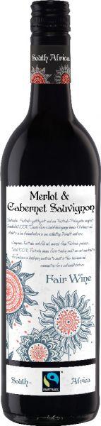 Fairtrade Merlot-Cabernet Sauvigon trocken 0,75l