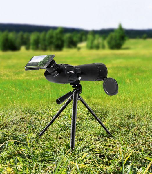 Bresser Zoom-Spektiv 20-60x60 inkl. Smartphonehalterung
