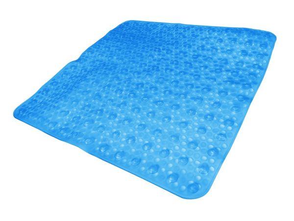 """Badkomfort Duschmatte """"Bubble"""", ca. 52 x 52 cm - Blau"""