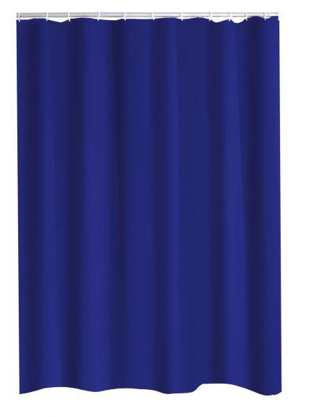 Ridder Duschvorhang Textil 180x200 cm Madison königsblau | Bad > Duschen | Textil - Polyester | Ridder