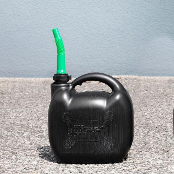 Diamond Car Kraftstoffkanister für Benzin mit Inhaltsmarkierung - 5 Liter