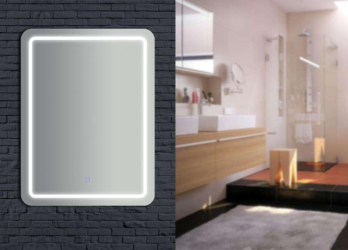 bhp Spiegel, LED-beleuchtet, 60x80x3cm