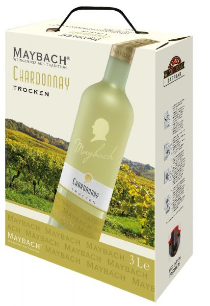 Maybach Chardonnay trocken 3,0l Bag in Box