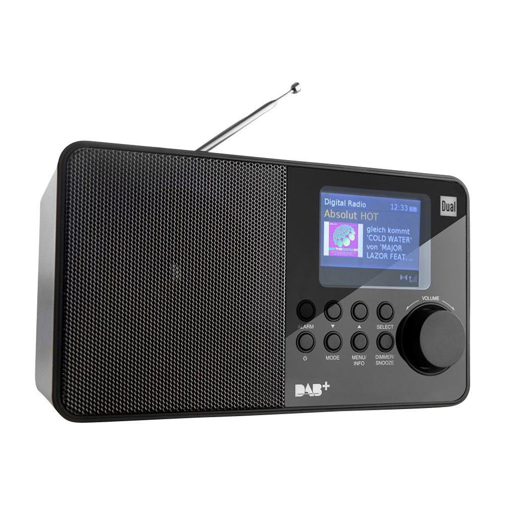 Badspiegel Mit Eingebautem Radio.Dual Portables Dab Ukw Radio Dab18c Norma24