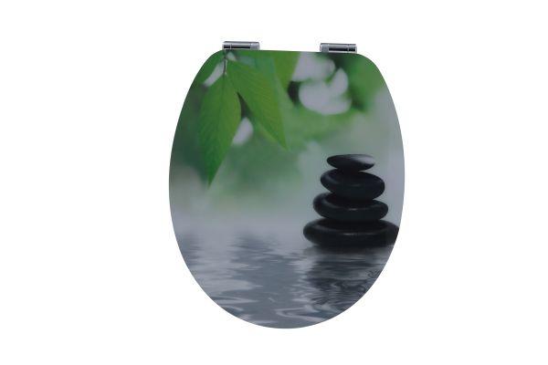 Duschwell MDF High Gloss WC-Sitz Zen