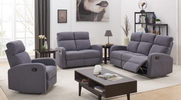 DETAIL Happy Home Sofa-Set mit Recliner HSS01