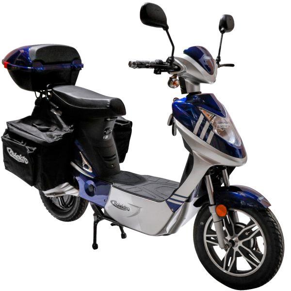 Rolektro eco-City 20 V.2 Plus, Blau/Silber, Elektroroller 20 Km/H
