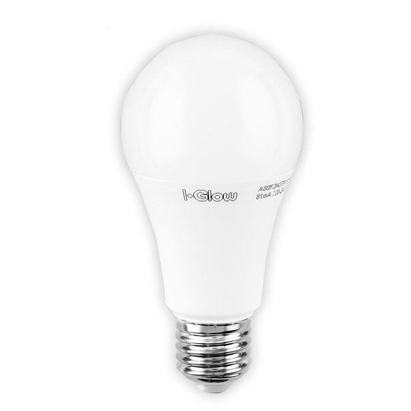 I-Glow LED-Leuchtmittel, Birne, 10 W, E27, Warmweiß