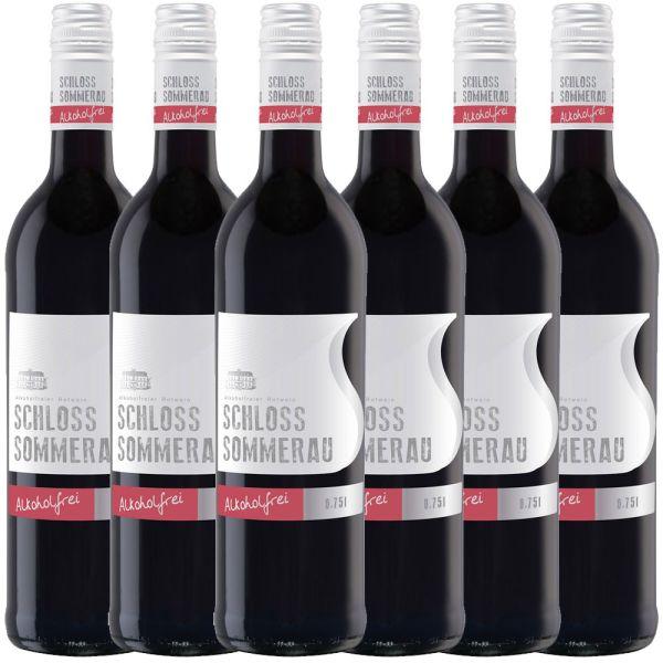 Schloss Sommerau alkoholfreier Rotwein 0,75l - 6er Karton