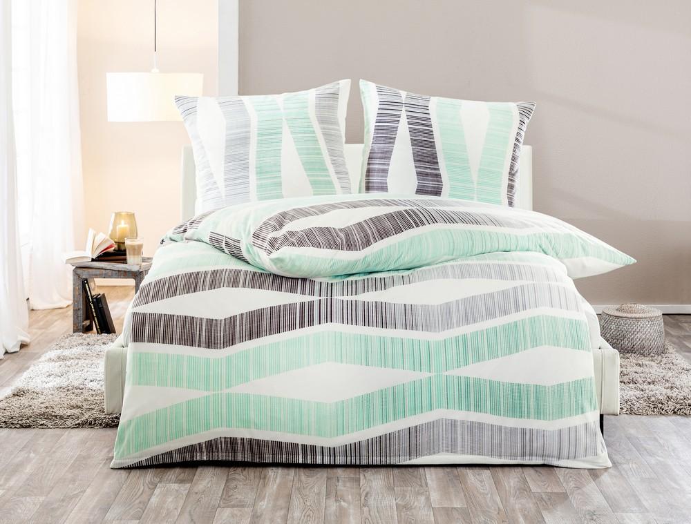 dreamtex nicki bettw sche ca 155 x 220 cm pure geometry. Black Bedroom Furniture Sets. Home Design Ideas