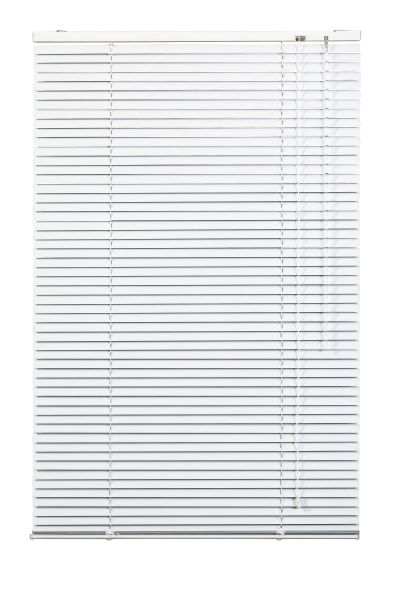 Lichtblick Jalousie Aluminium - Weiß, 90 cm x 220 cm (B x L)