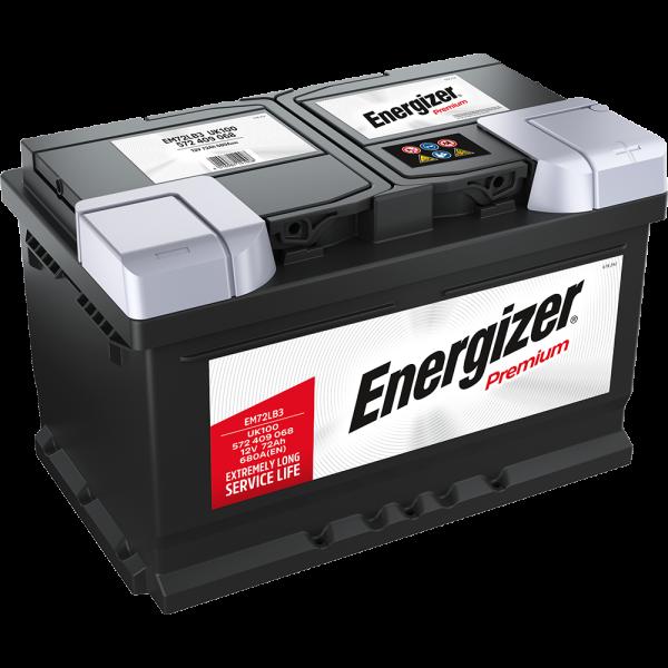 Energizer Premium-Starterbatterie 72 Ah
