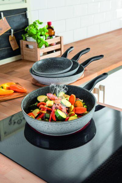 Casa Royale Emaillierte Pfanne Ravenna  24cm   Küche und Esszimmer > Kochen und Backen > Pfannen   Casa Royale