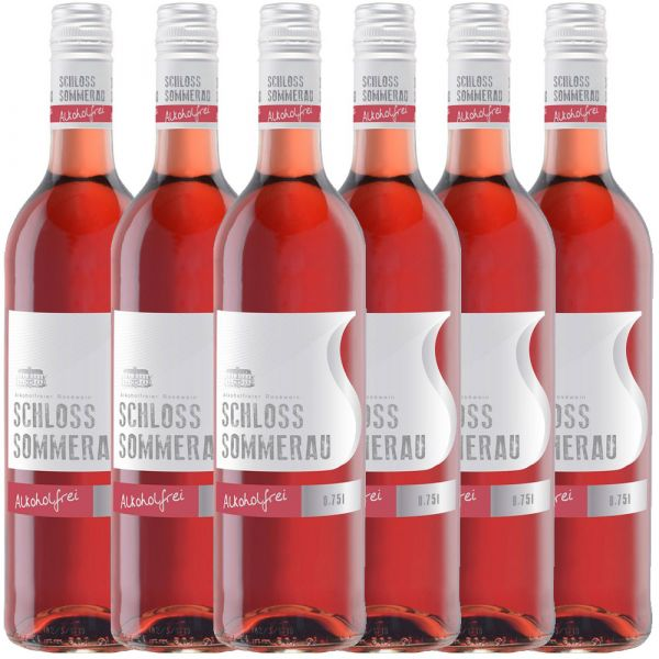 Schloss Sommerau alkoholfreier Rose 0,75l - 6er Karton