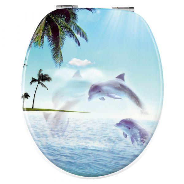 Badkomfort 3D-WC-Sitz - Delfin