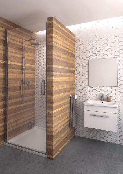 Aquaform Seitenwand  für Schwingtür 900