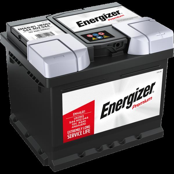 Energizer Premium-Starterbatterie 44 Ah