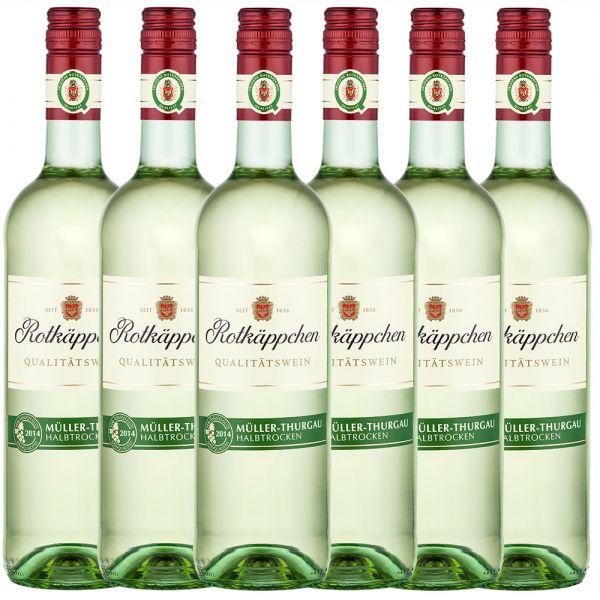 Rotkäppchen Weißwein Müller-Thurgau halbtrocken - 6er Karton