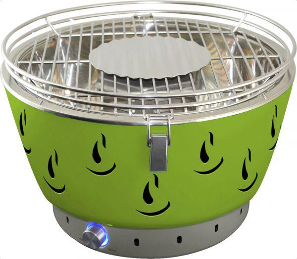 Activa Holzkohlegrill Airbroil Junior Set mit Aktivbelüftung grün   Garten > Grill und Zubehör > Grillgeräte   Grün   Activa Grillküche