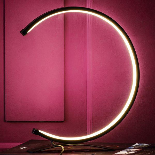 """Caszon LED Design Tischleuchte """"Halbmond"""""""