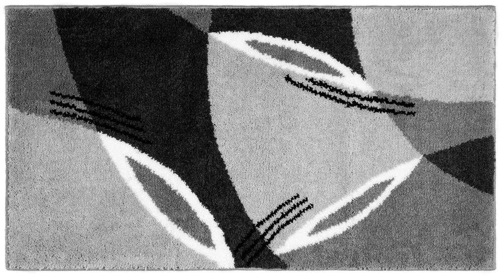 Sensino Xxl Design Badteppich Modern Art Grau Norma24