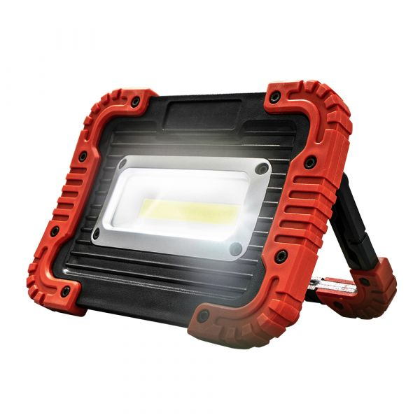 I-Glow COB-LED Akku Arbeitsstrahler 10 Watt