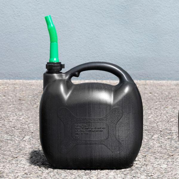 Diamond Car Kraftstoffkanister für Benzin mit Inhaltsmarkierung - 10 Liter