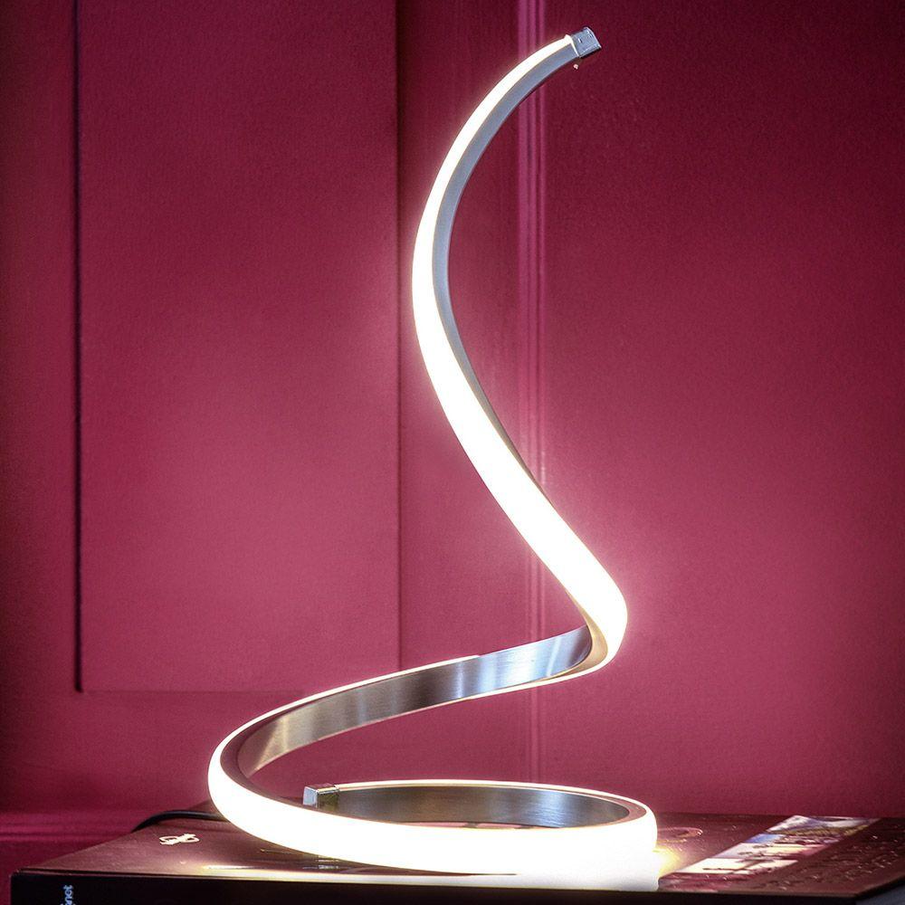 LED Design Tischleuchte LAOLA 12W Tischlampe Lampe Nachttischlampe