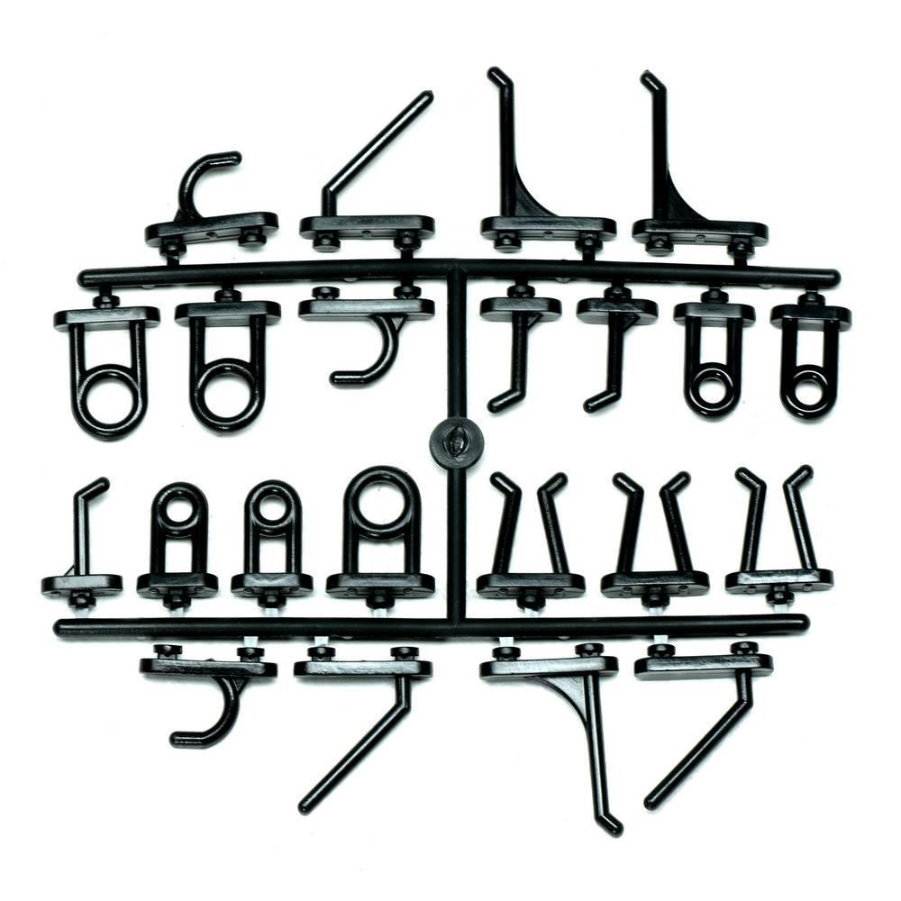 T4 F3 50 Stück Haken Lochwandhaken Hakenset Lochwände Werkzeugwand Zubehör